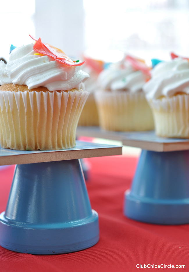 Cupcake Craft for Father's Day Party Idea