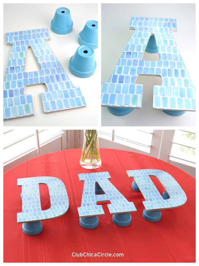 Personalized Cupcake Stand for Father's Day