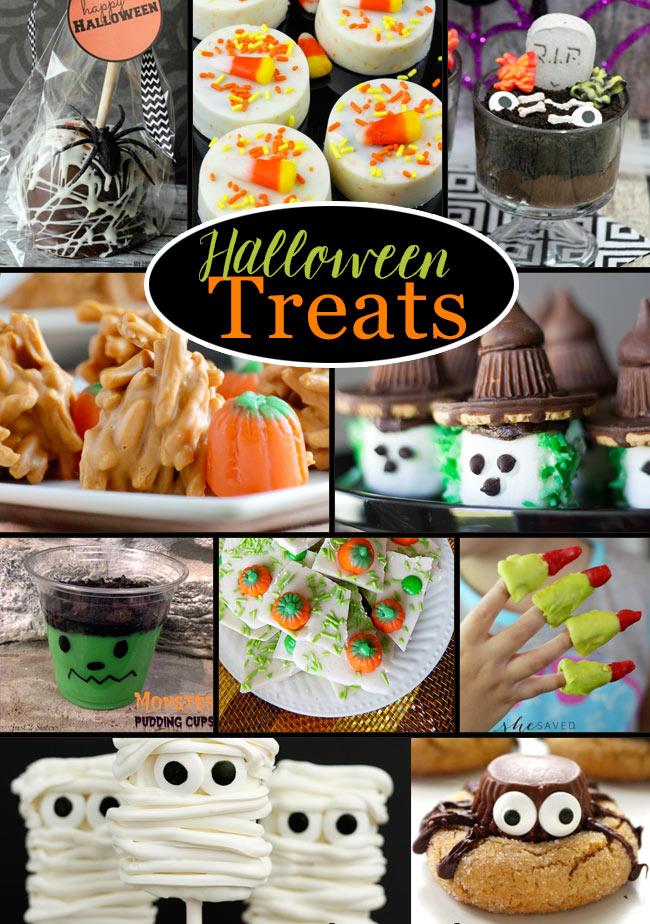 easy halloween treat recipes ideas mondayfundayparty