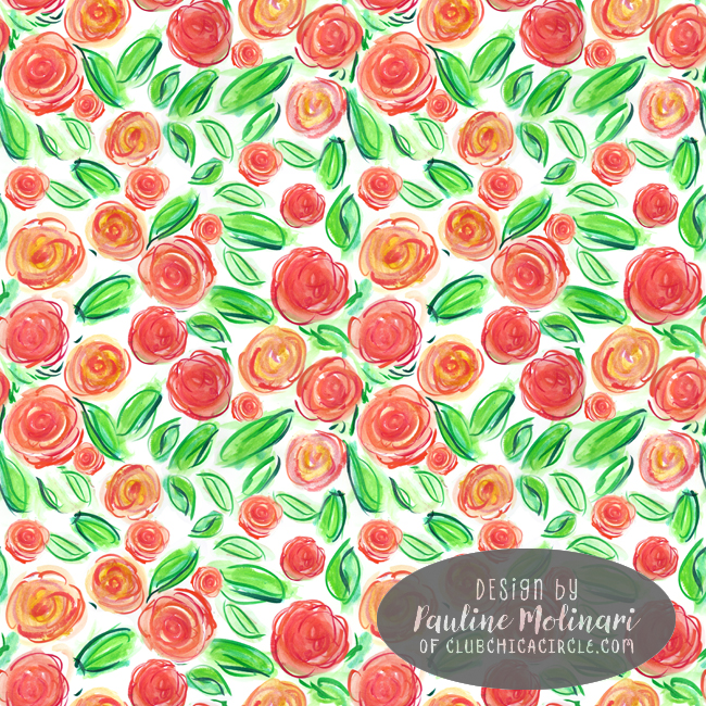 watercolor-crayon-roses-pretty-pattern