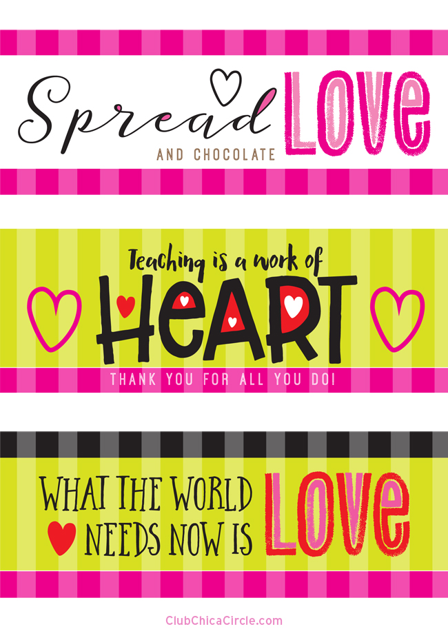 photo relating to Printable Teacher Valentine Cards Free called Valentines Working day Sweet Bar Wrapper Cost-free Printables