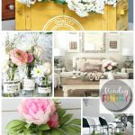 Monday-Funday-Link Party featuring Spring-Projects-and-Decor