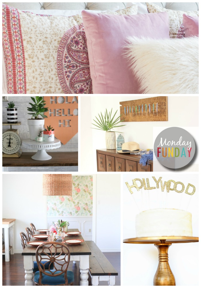 Spring-DIY Inspiration-from Monday-Funday Link Party