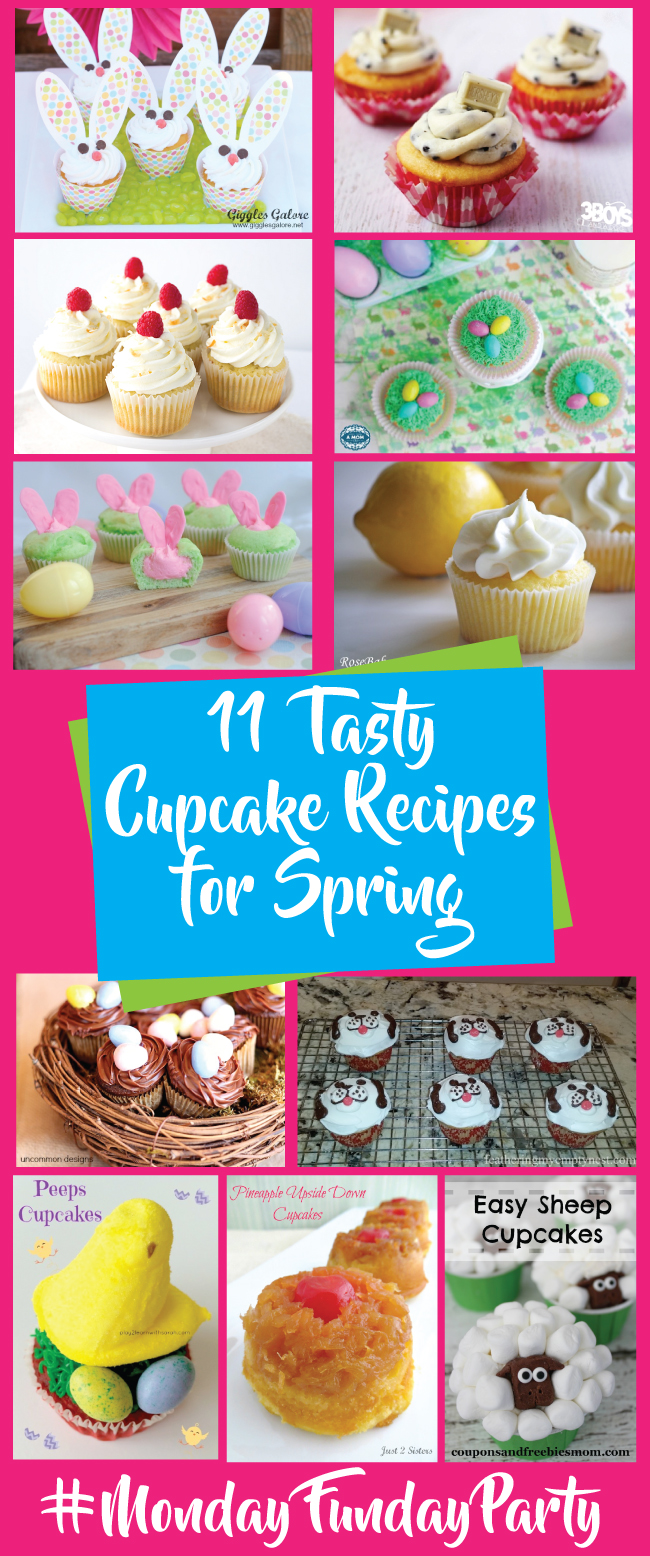 11 Yummy cupcake recipe ideas #MondayFundayParty @chicacircle