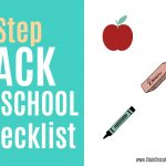 Back to School Checklist Slider