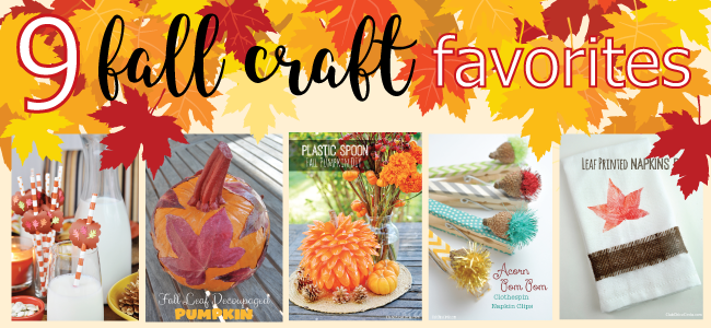 Fall Craft Ideas Slider
