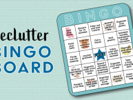 Delutter Bingo Header – ChicaSimplified ChicaCircle
